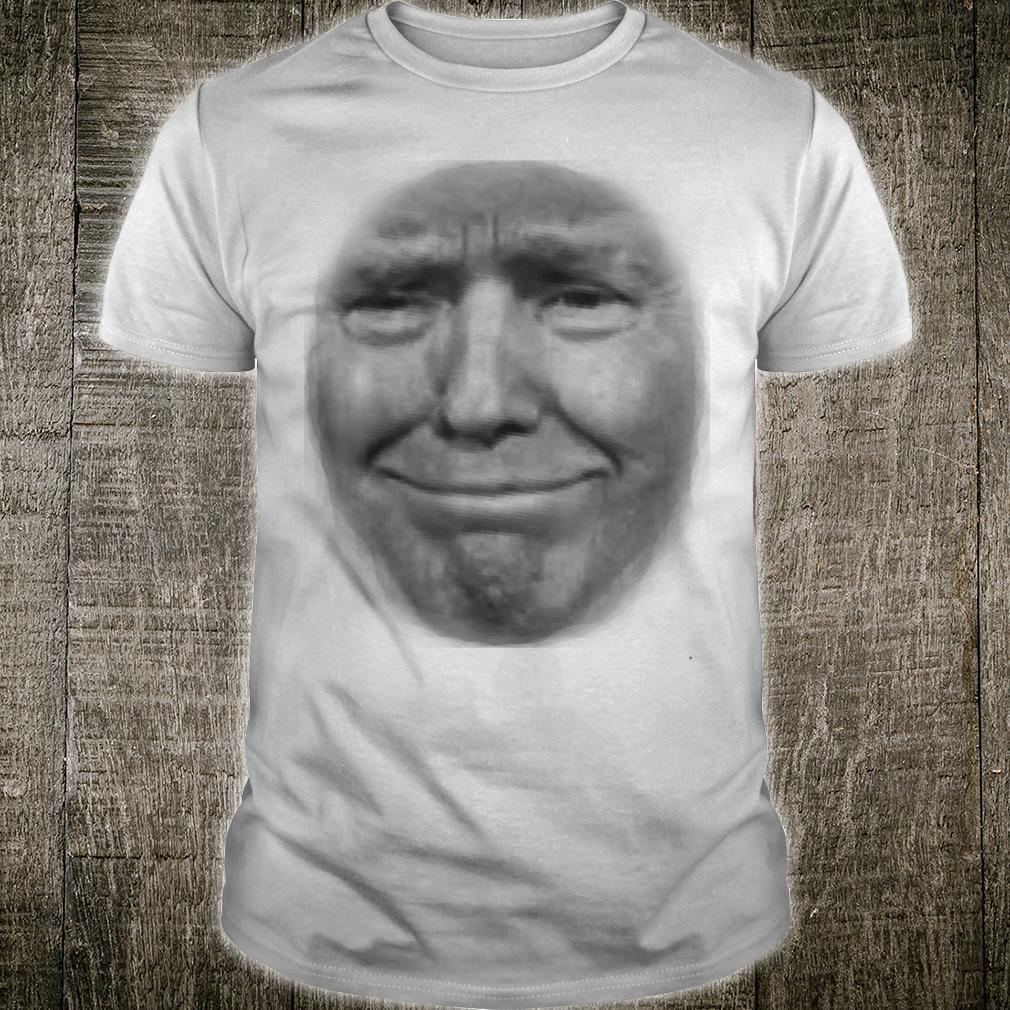 Lustiges TrumpGesicht Sarkastischer Präsident Donald 2020 Meme Shirt
