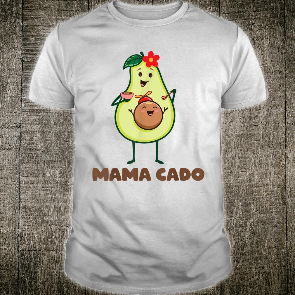 Mamacado T Cute Avocado Pregnant Mom Shirt