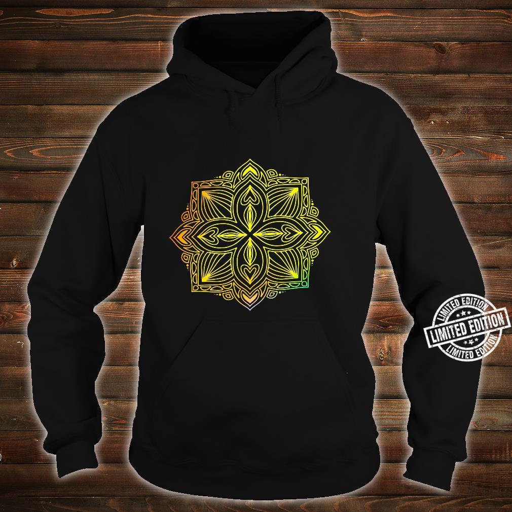 Mandala Wisdom Meditation Light Burst Shirt hoodie