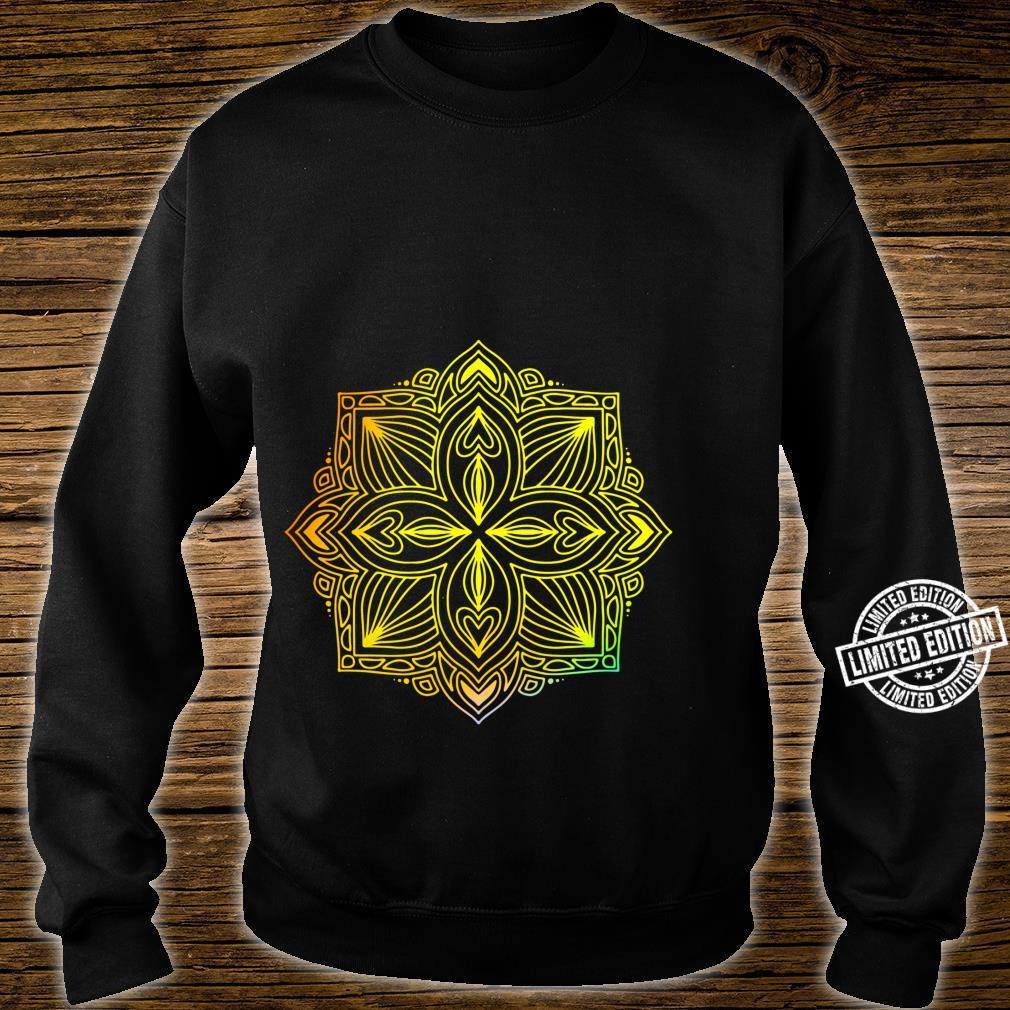 Mandala Wisdom Meditation Light Burst Shirt sweater