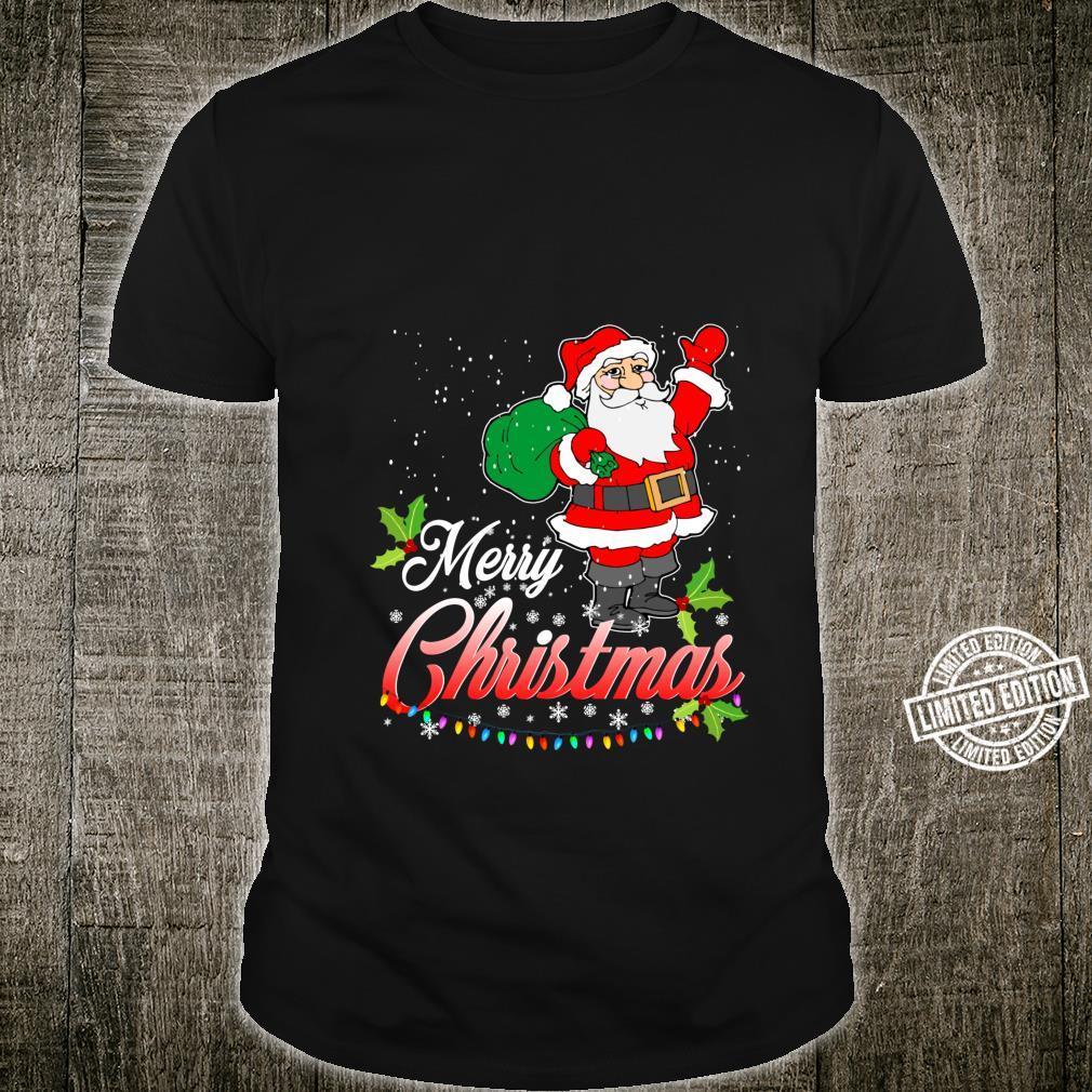 Merry Christmas Santa, & Children XMas Shirt