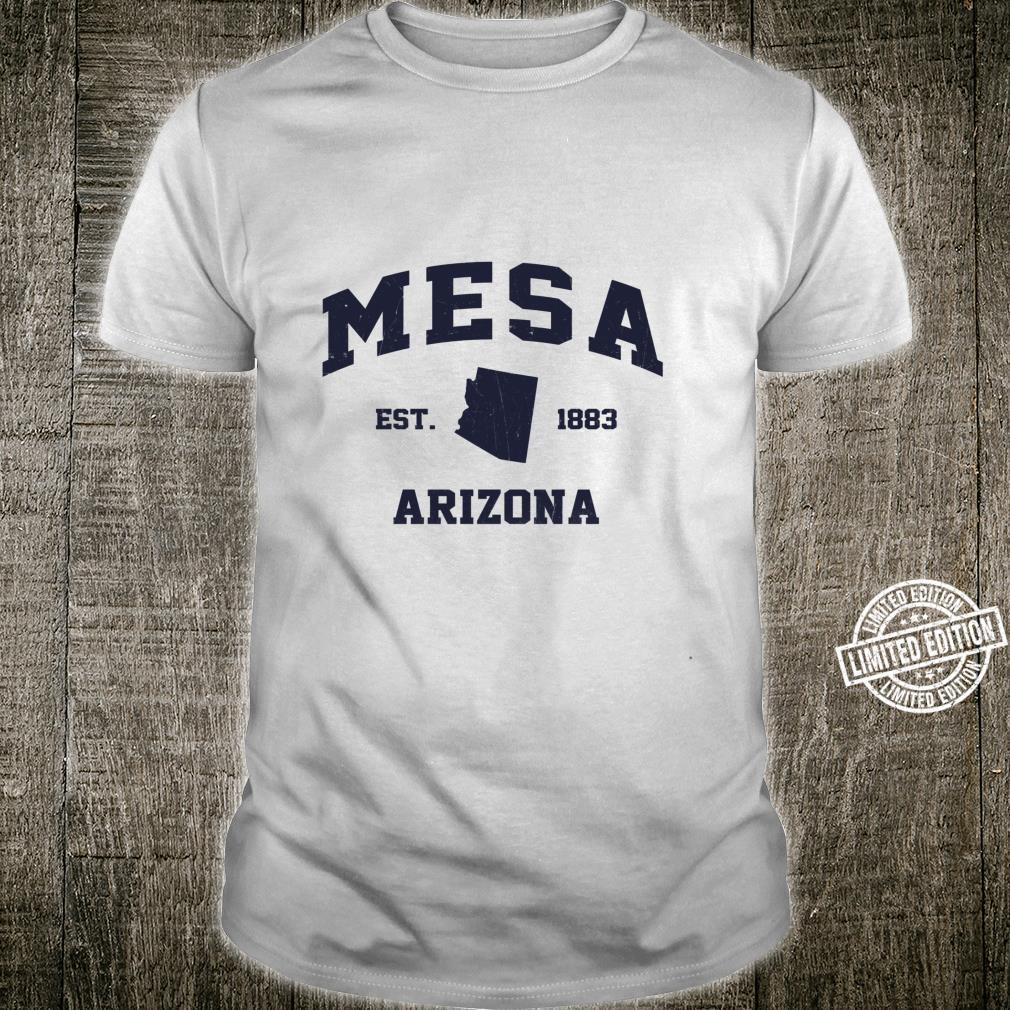 Mesa Arizona AZ vintage state Athletic style Shirt