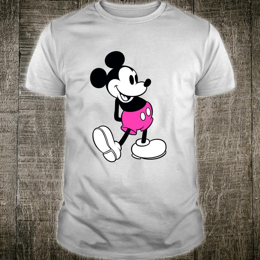 Mickey Mouse Pink shorts Shirt