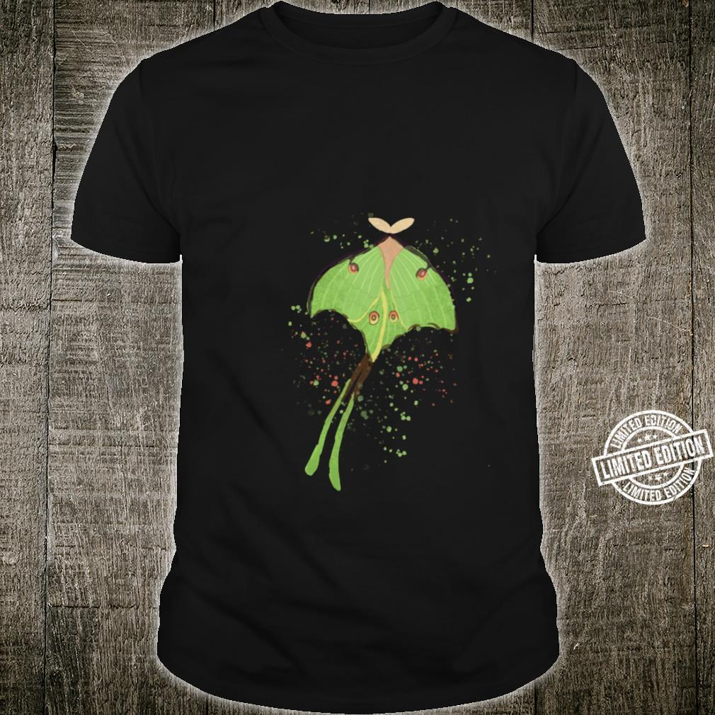 Moth Cottagecore Nature Forest Goblincore Goth Insects Shirt
