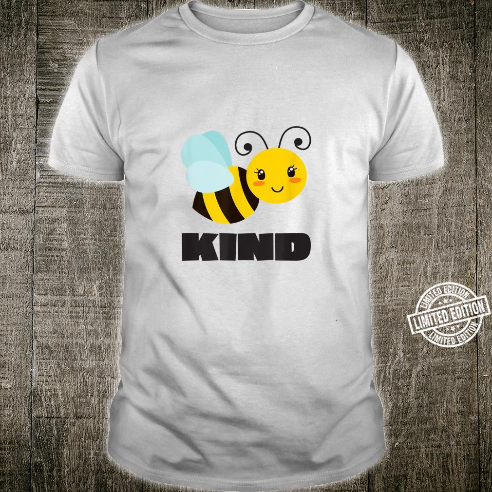 Mother Teacher Bee Kind Kindness Be Kind Spread Love Shirt