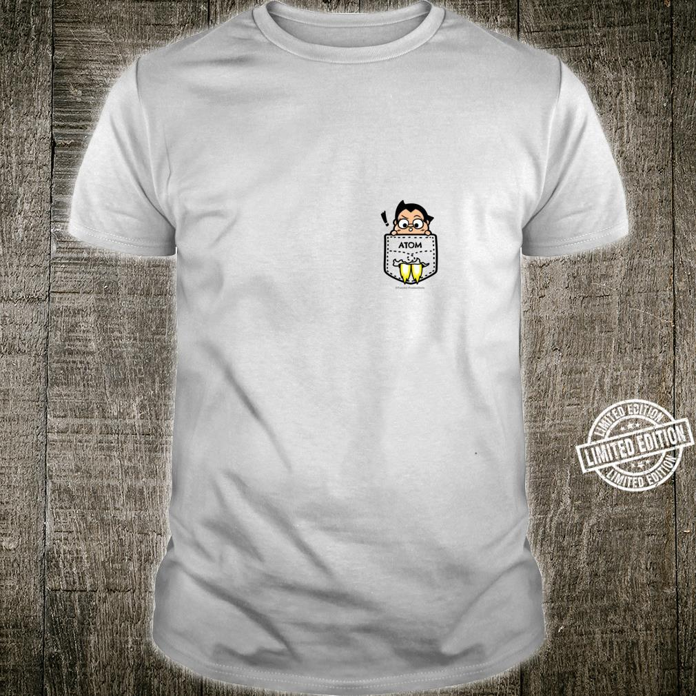 Muscular Mighty Atom In The Pocktet Shirt