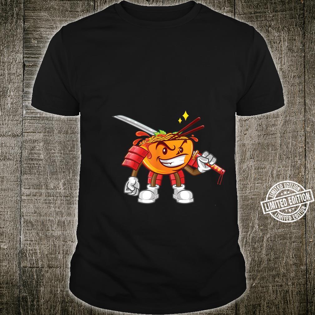 Ninja Ramen Sinobi Samurai Katana Warrior Swords Japan Shirt