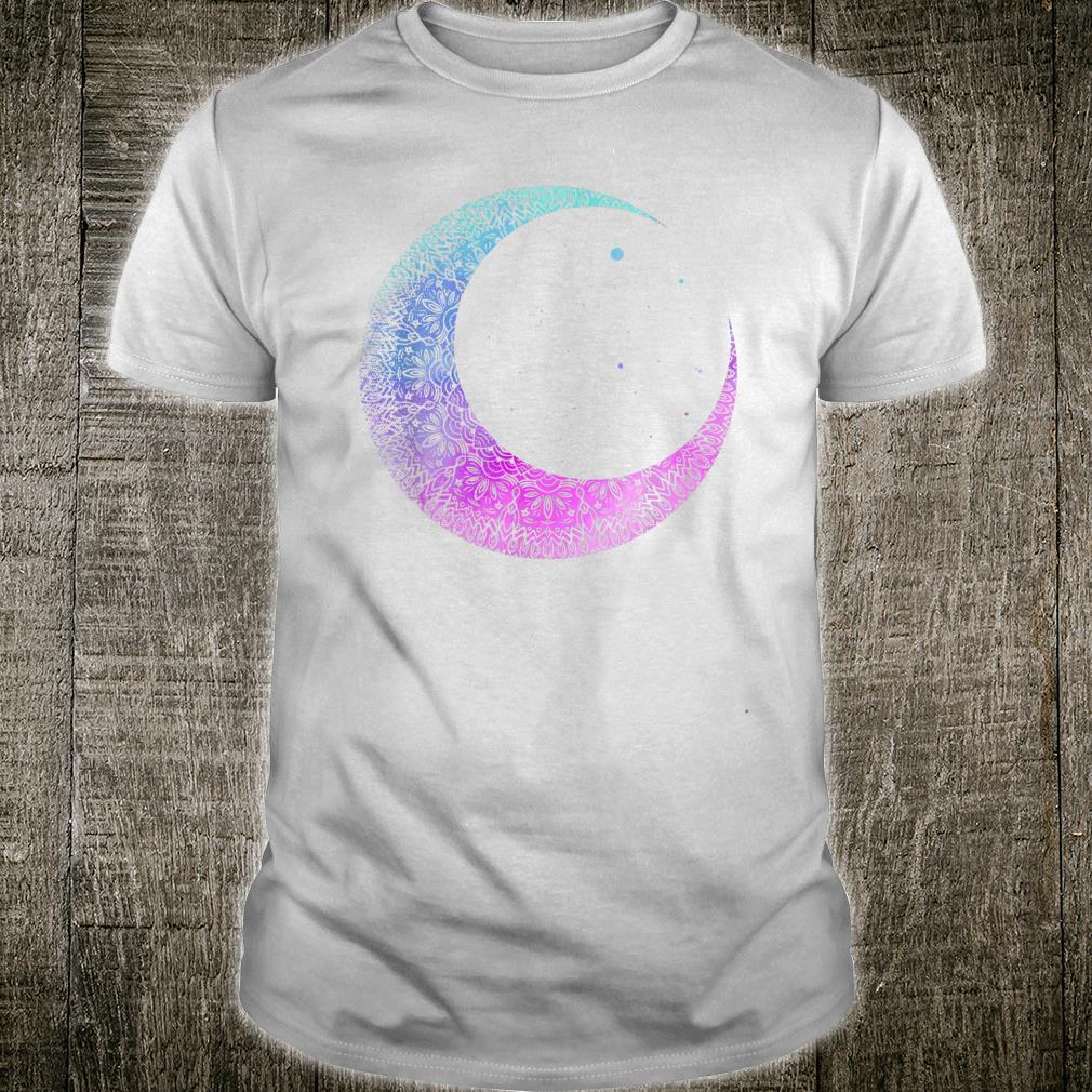 Otaku Anime Crescent Moon Mandala Pastel Gothic Shirt