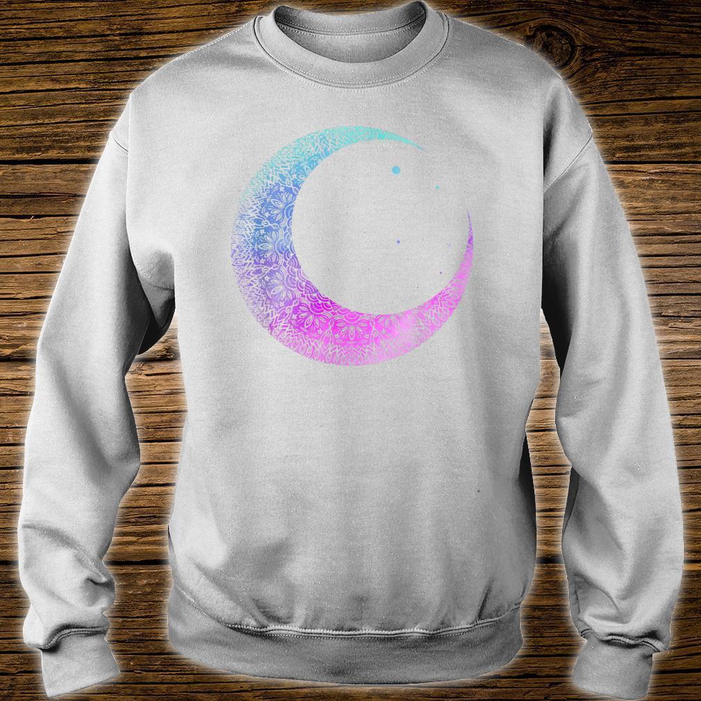 Otaku Anime Crescent Moon Mandala Pastel Gothic Shirt sweater