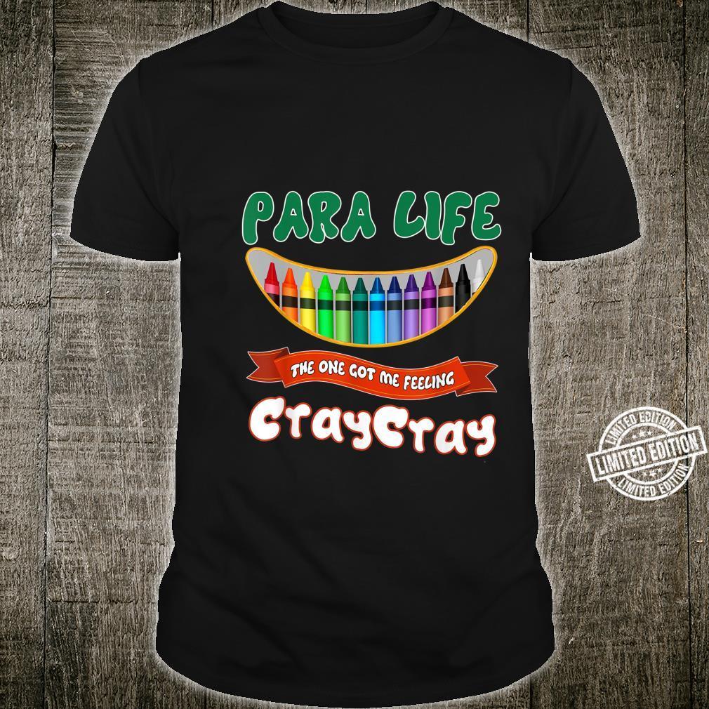 Papa Life The One Got Me Feeling CrayCray Teacher Shirt