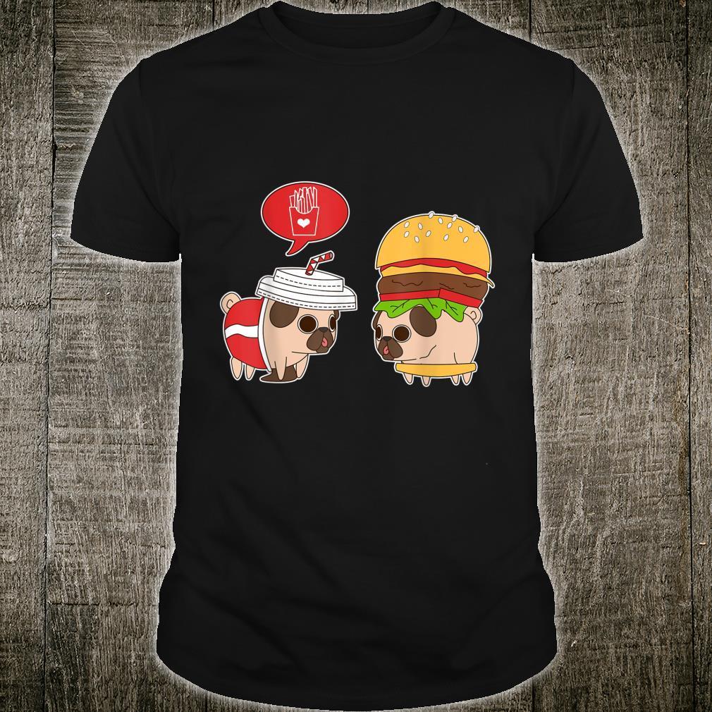 Puglie Burger und Mops Drink Shirt