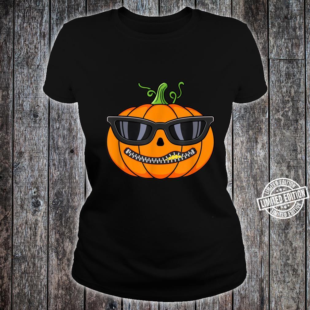 Pumpkin Halloween Fall Shirt ladies tee
