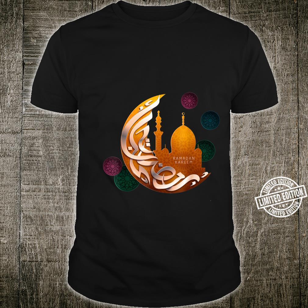 Ramadan Kareem Crescent Noveltys & Cool Designs Shirt