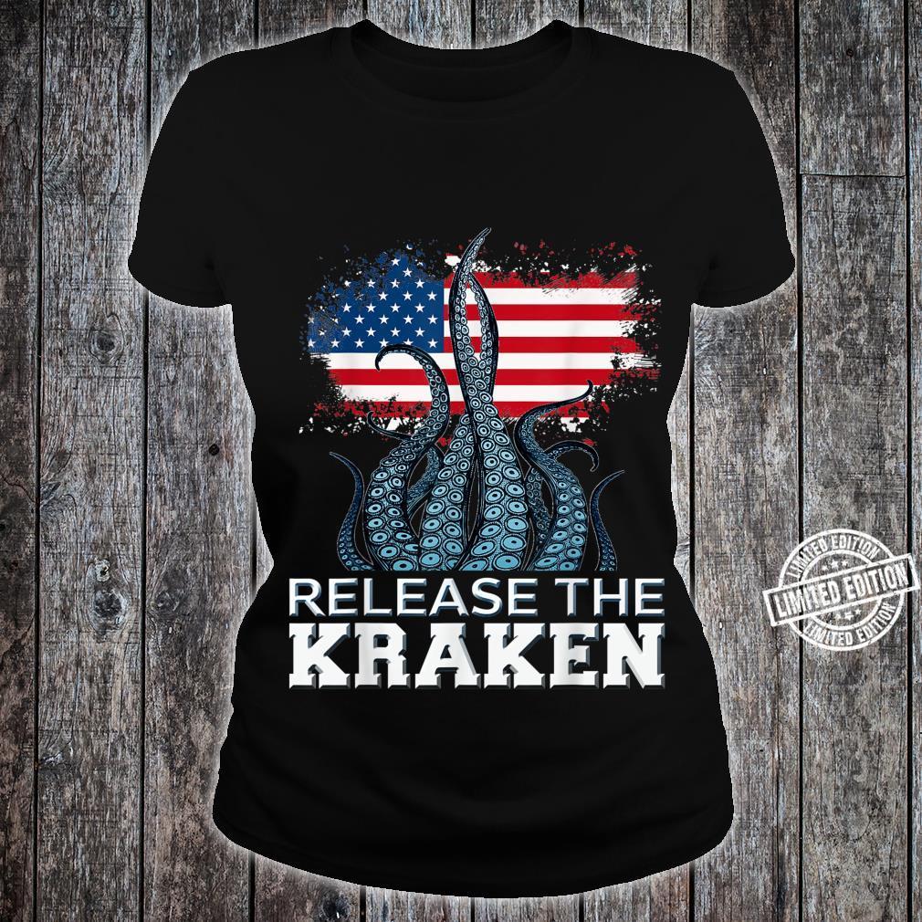 Release The Kraken American Edition Shirt ladies tee
