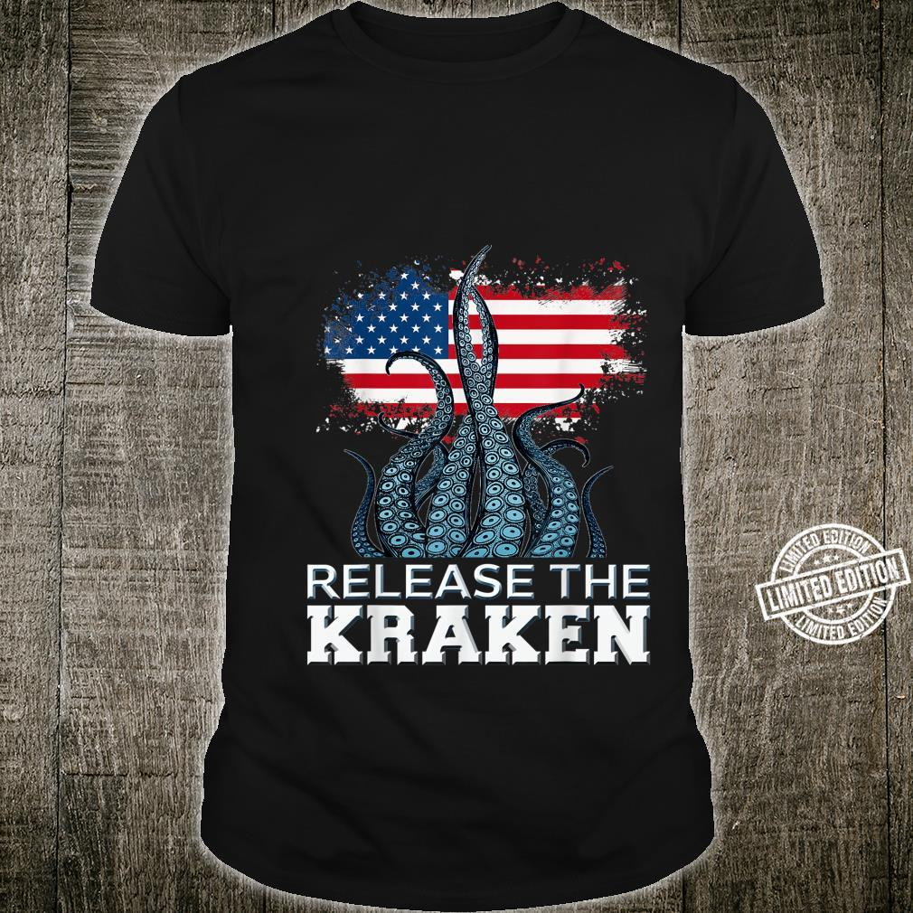 Release The Kraken American Edition Shirt