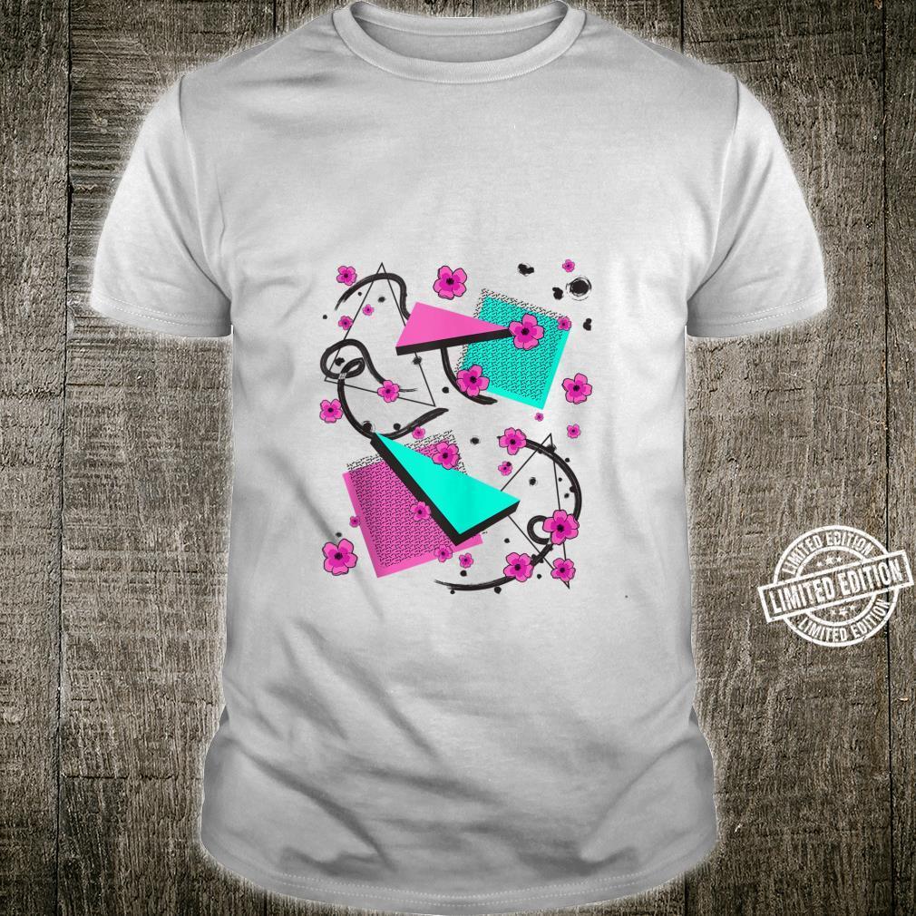 Retro 80s & 90s Aesthetic Vaporwave Pattern Memphis style Shirt