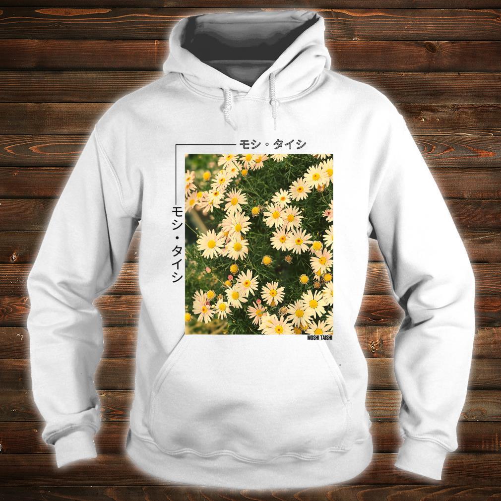 Retro Japanese Floral 90's Lofi Streetwear Aesthetic Shirt hoodie