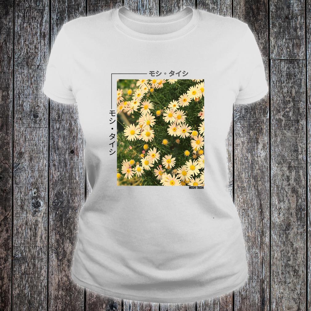 Retro Japanese Floral 90's Lofi Streetwear Aesthetic Shirt ladies tee