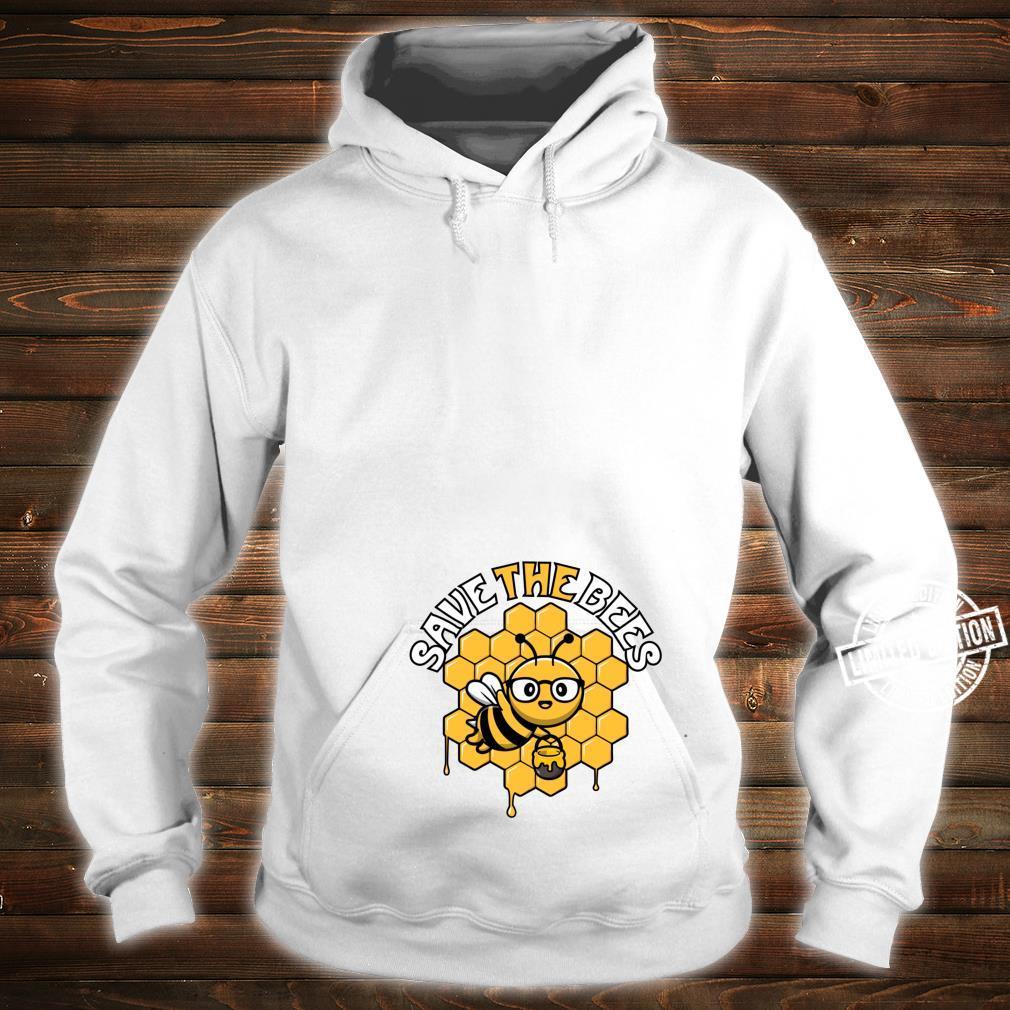 Rettet die Bienen Tag der Erde Umwelt Klimawandel Shirt hoodie