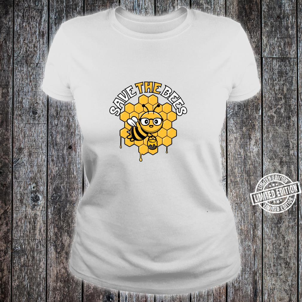 Rettet die Bienen Tag der Erde Umwelt Klimawandel Shirt ladies tee