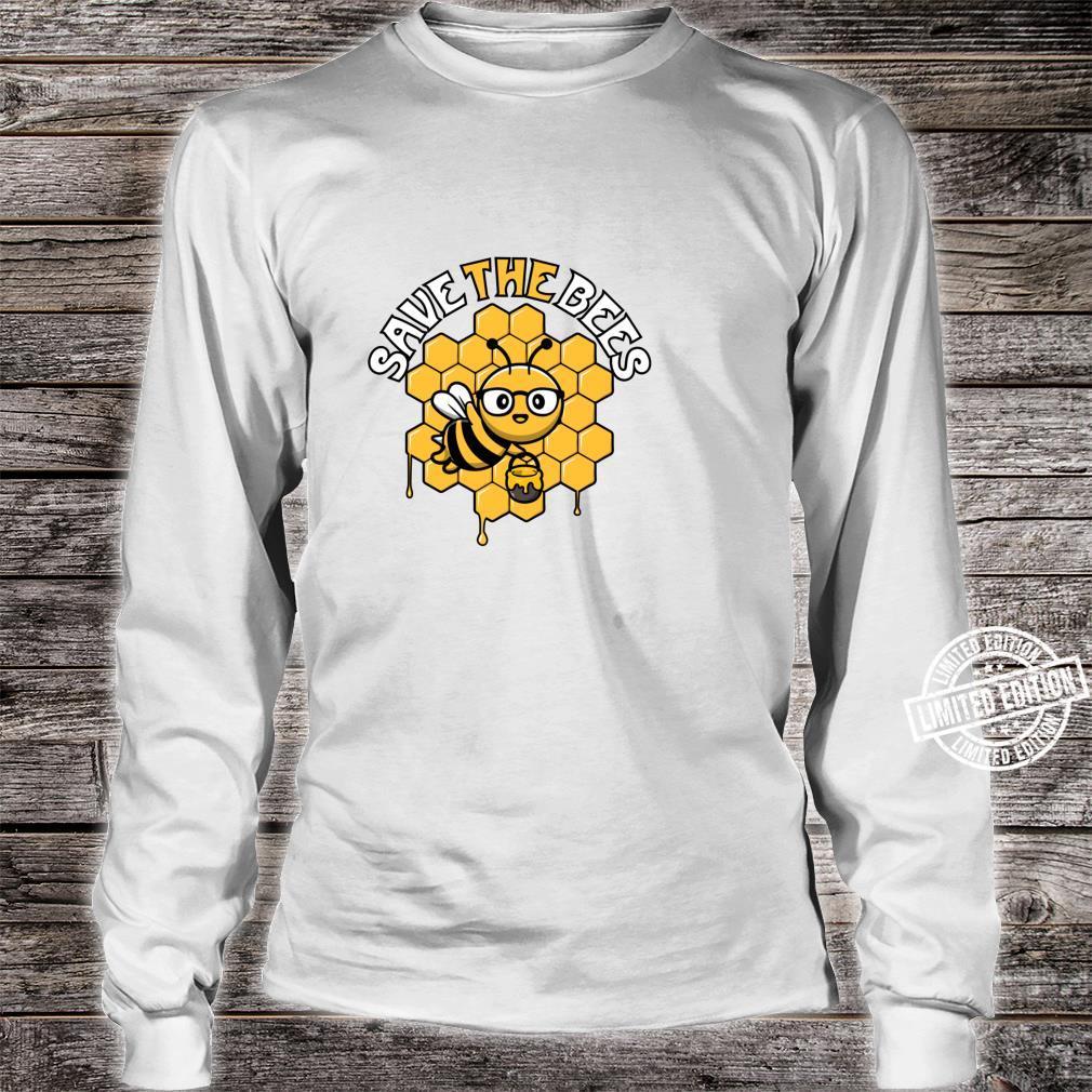 Rettet die Bienen Tag der Erde Umwelt Klimawandel Shirt long sleeved