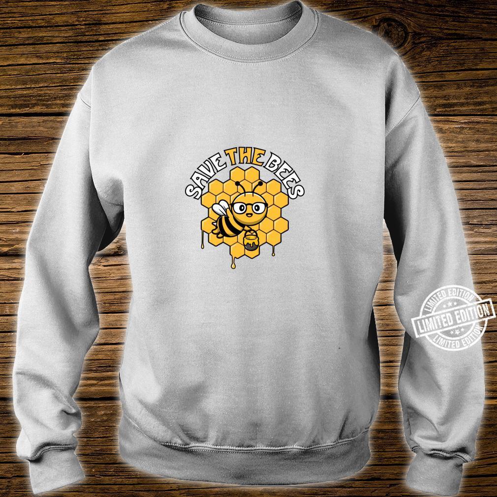 Rettet die Bienen Tag der Erde Umwelt Klimawandel Shirt sweater