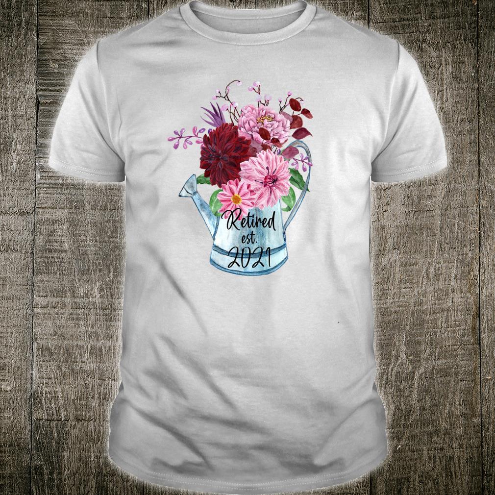 Ruhestand Est 2021 Ruhestand für Frauen 2021 Shirt