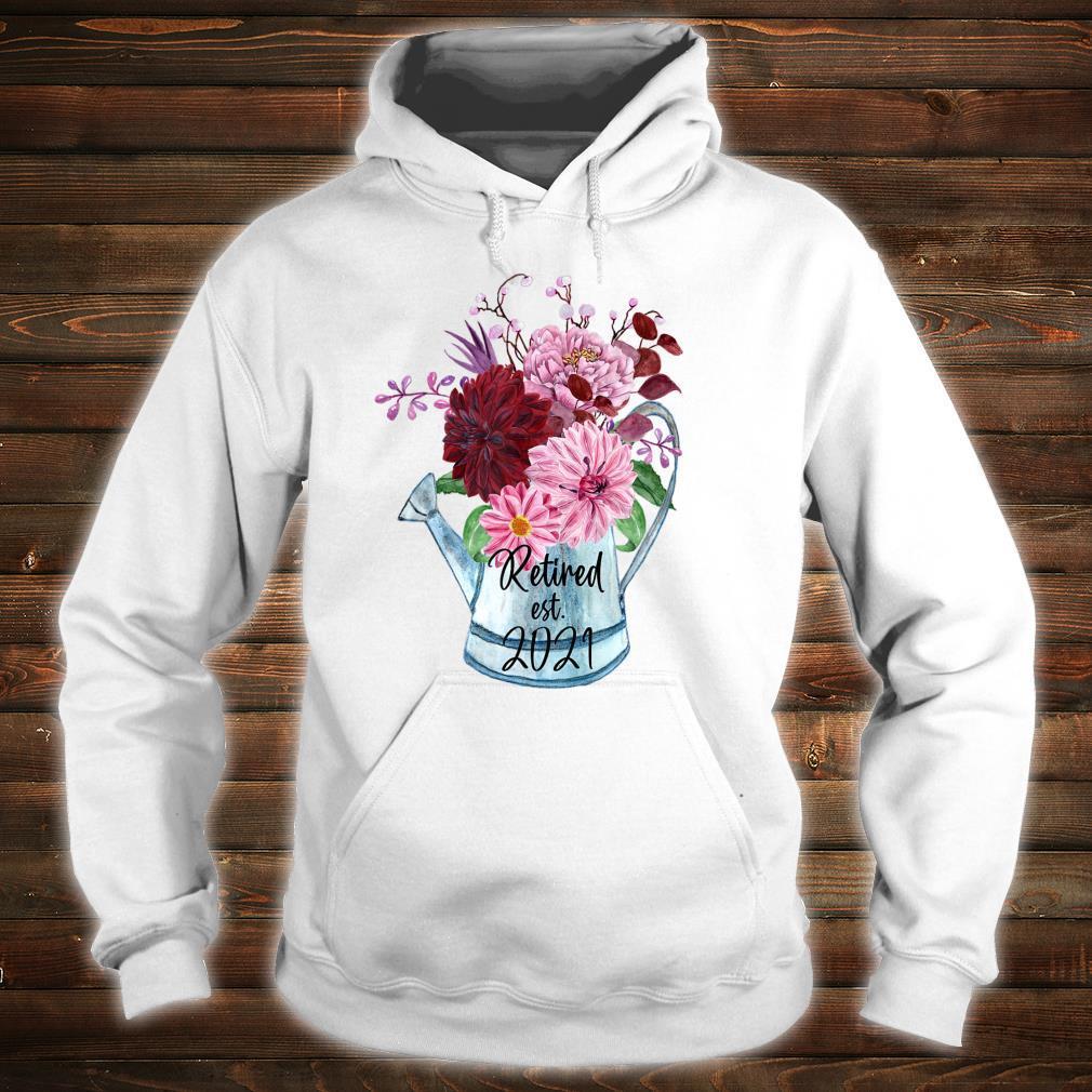 Ruhestand Est 2021 Ruhestand für Frauen 2021 Shirt hoodie