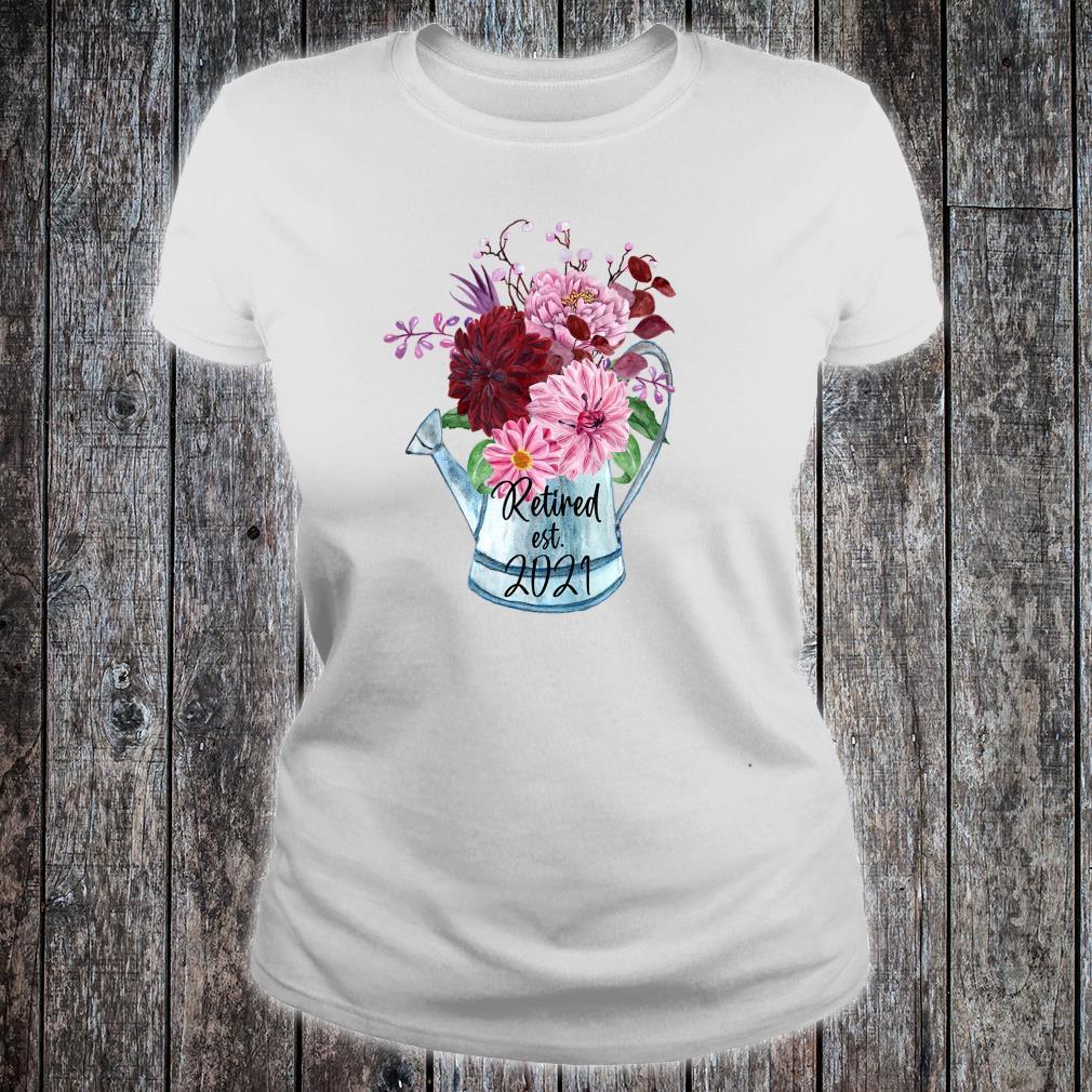 Ruhestand Est 2021 Ruhestand für Frauen 2021 Shirt ladies tee
