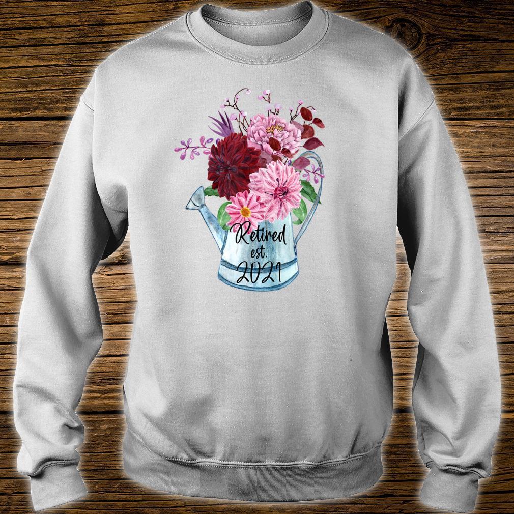 Ruhestand Est 2021 Ruhestand für Frauen 2021 Shirt sweater