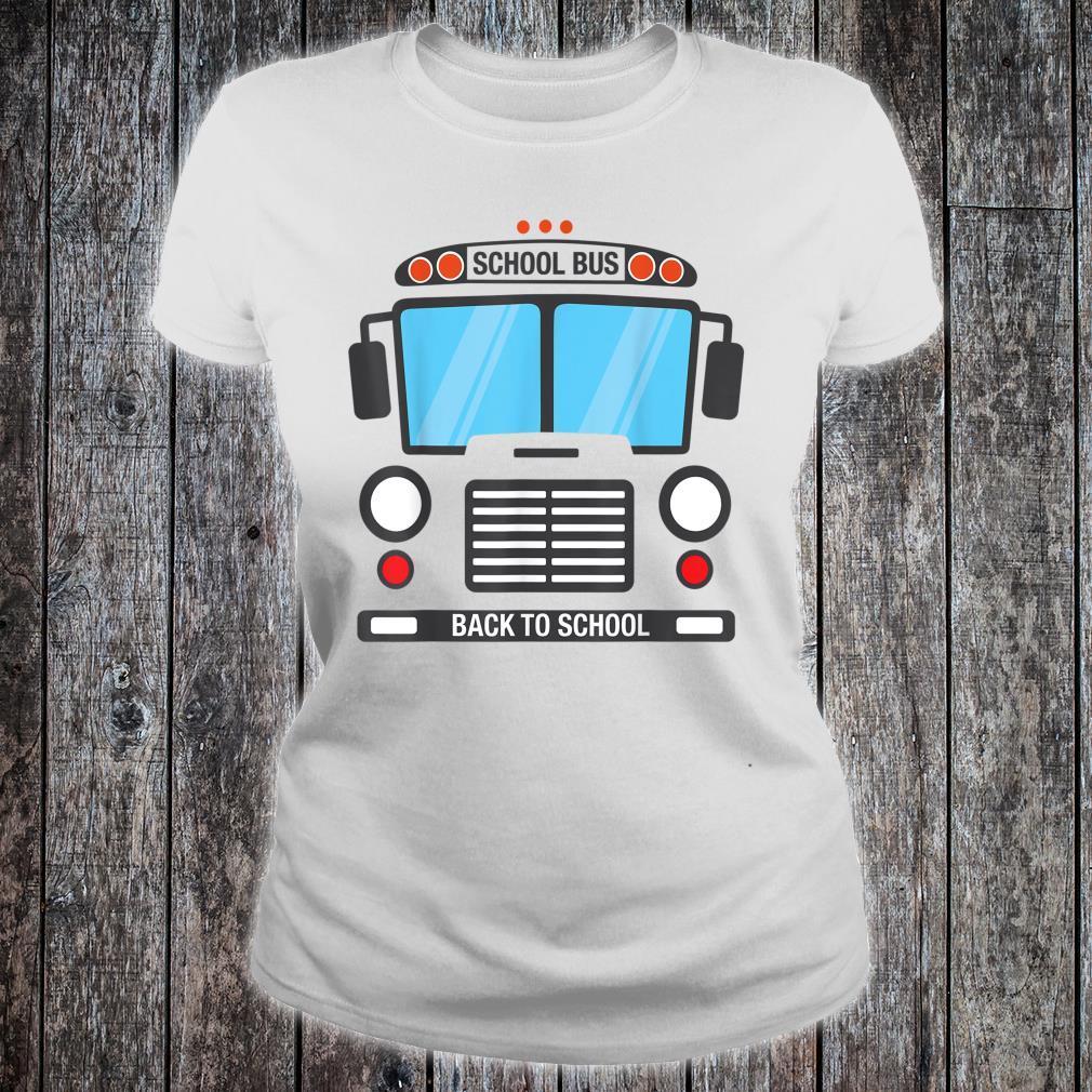 School Bus Driver Costume Simple Group Halloween Costume Shirt ladies tee
