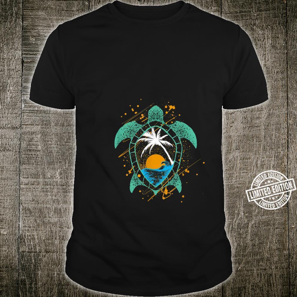 Sea Turtle Animal Conservation Shirt