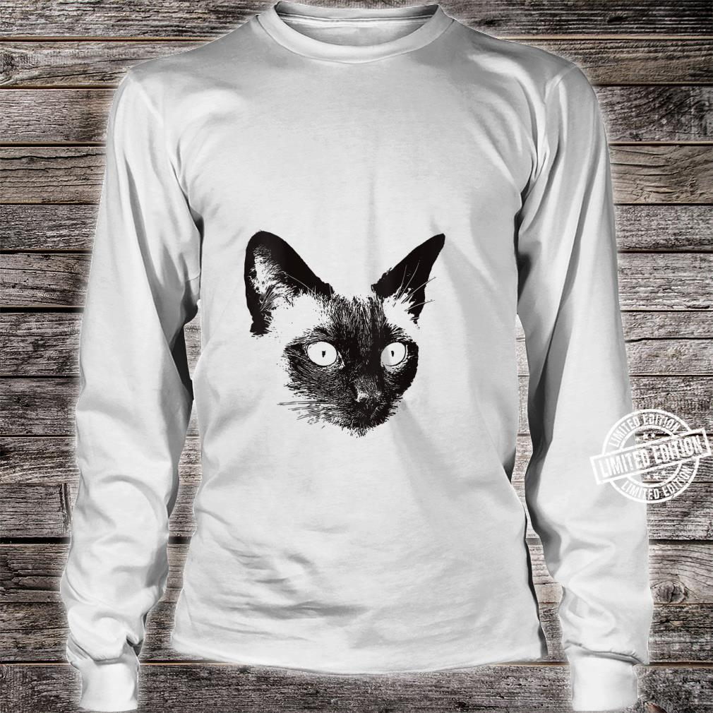 Siamese Cat for Meezer Owners Shirt long sleeved