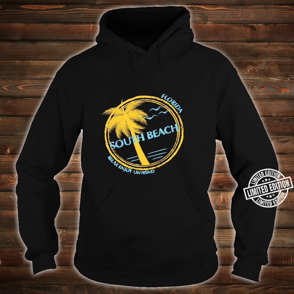 South Beach Florida Souvenir For Spring Break Shirt hoodie
