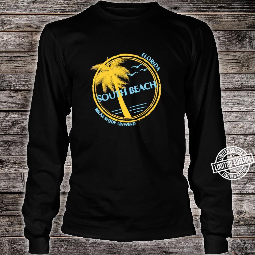 South Beach Florida Souvenir For Spring Break Shirt long sleeved
