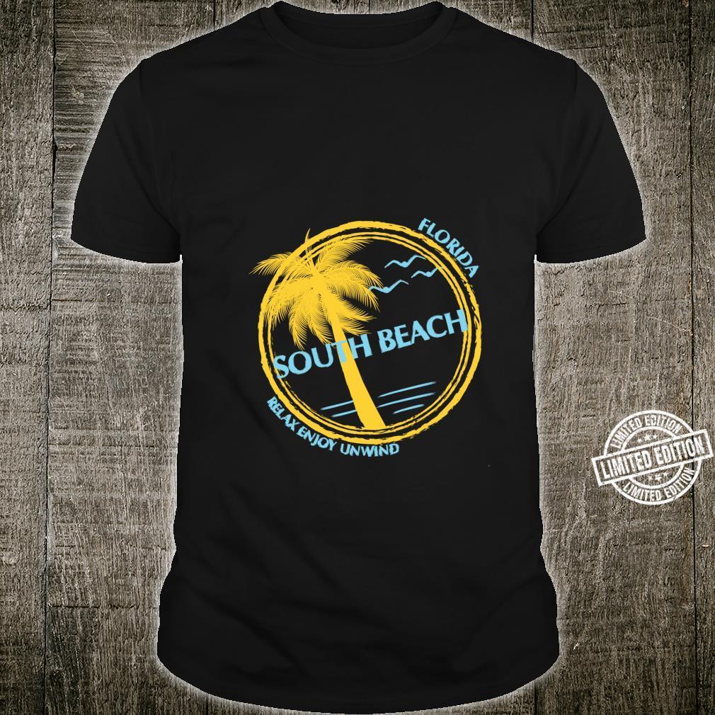 South Beach Florida Souvenir For Spring Break Shirt