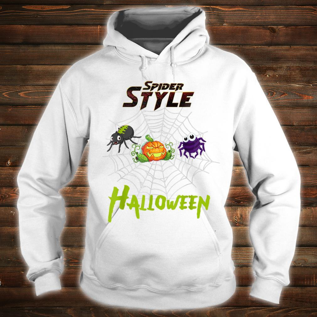 Spider style Halloween Party costume Idea Shirt hoodie