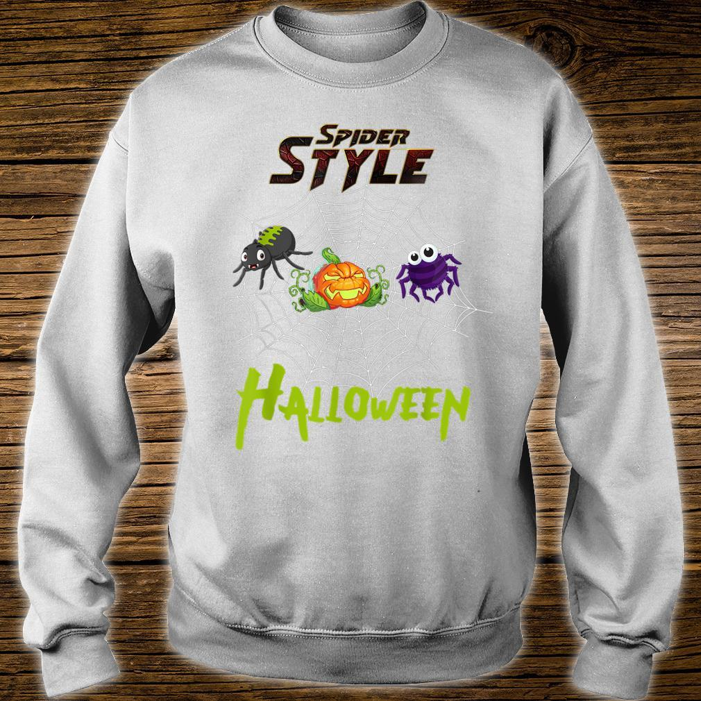 Spider style Halloween Party costume Idea Shirt sweater