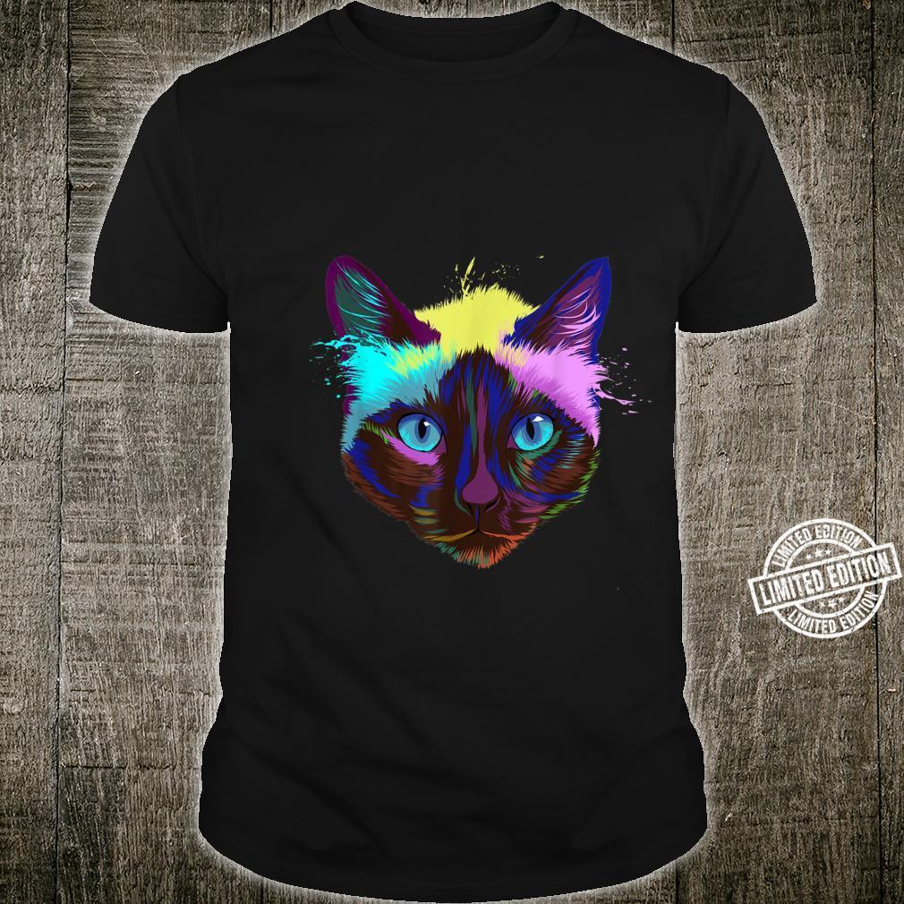 Splash Siamese Cat Shirt