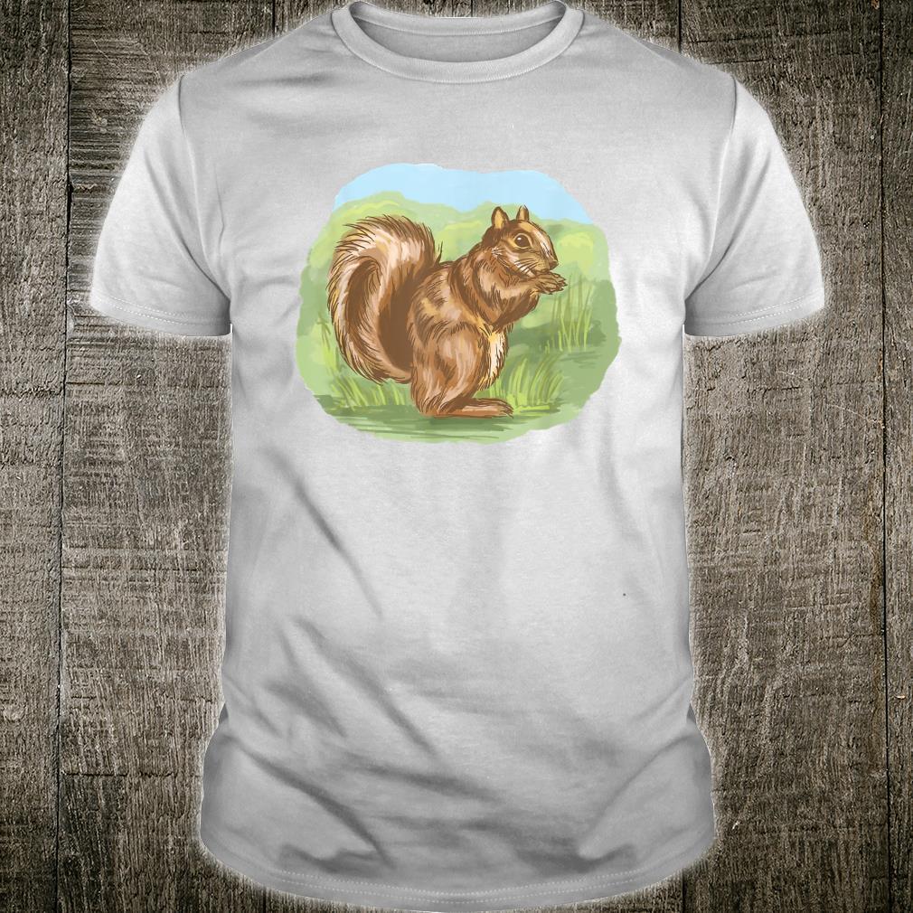 Squirrel Outside Cute Nature Shirt