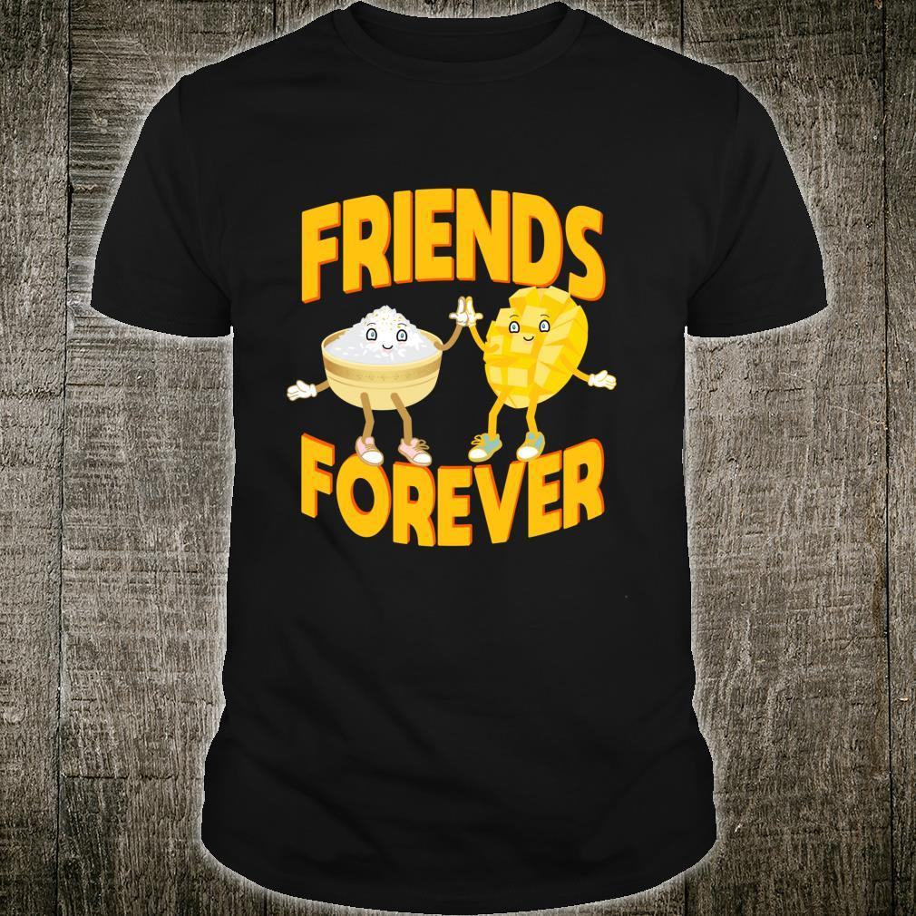 Sticky Rice With Mango Friends Forever Asian Cooking Shirt