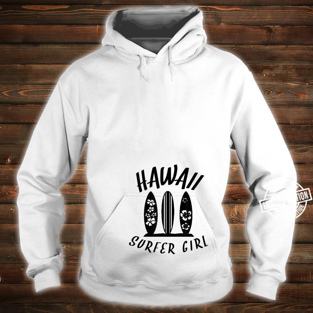Surf Boards Hawaii Surfer Girl Shirt hoodie