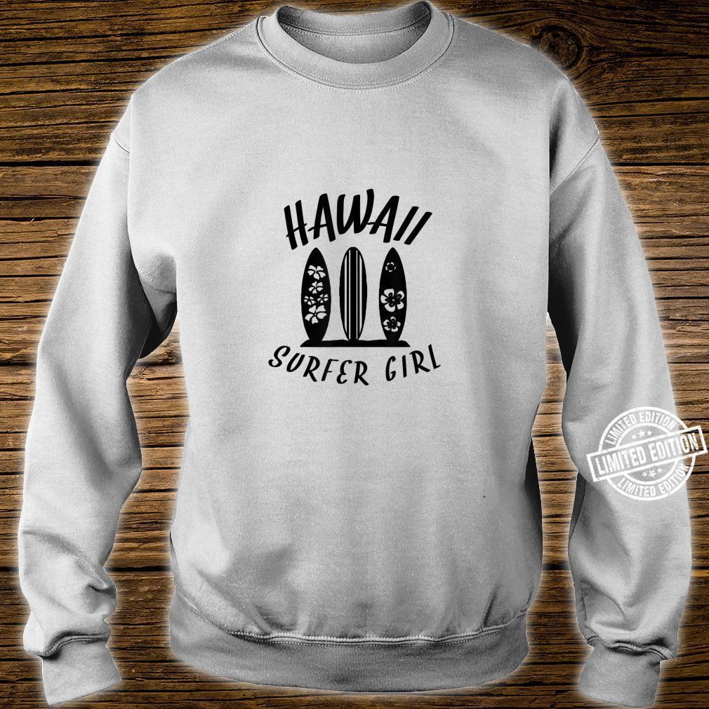 Surf Boards Hawaii Surfer Girl Shirt sweater