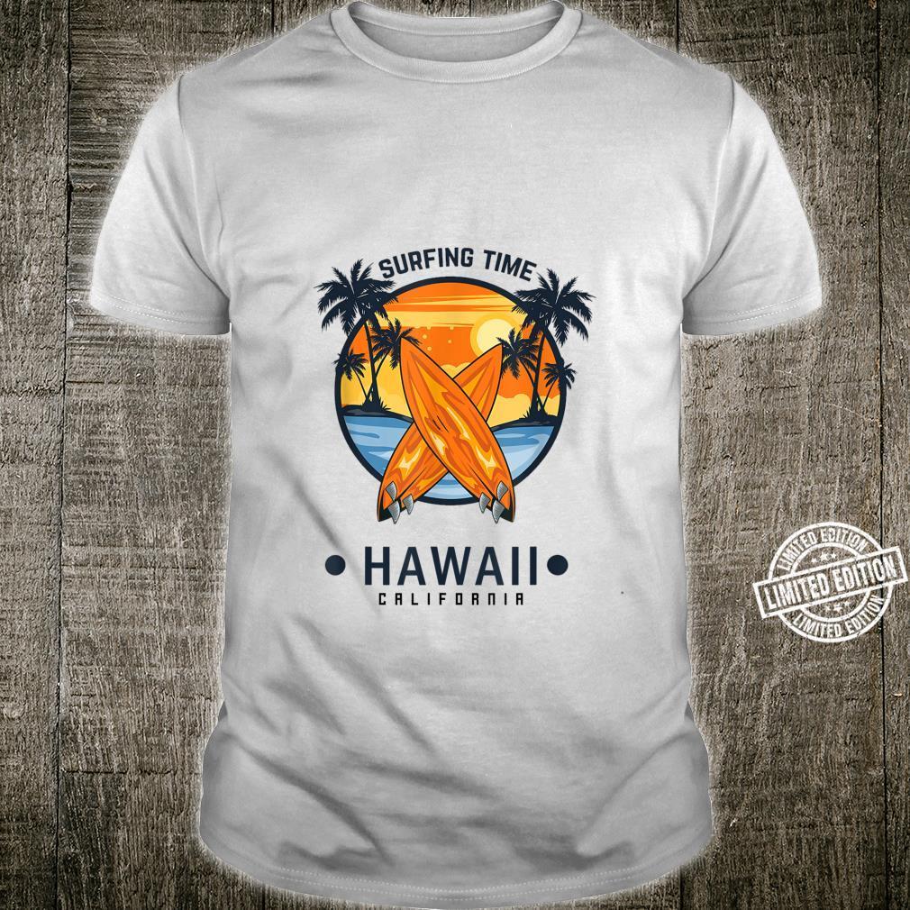 Surfing time Hawaii Summer Shirt
