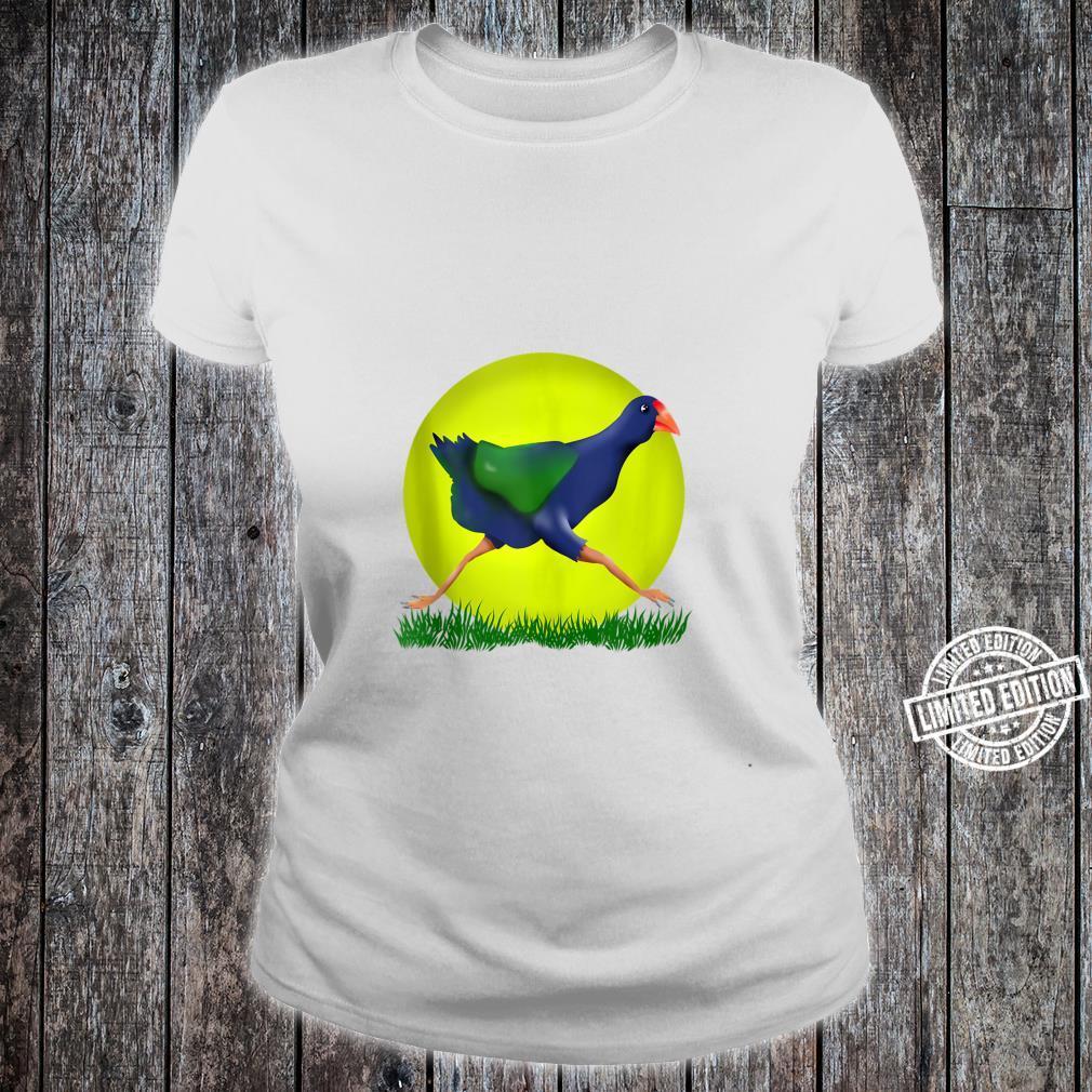 Takahe NZ Bird Shirt ladies tee
