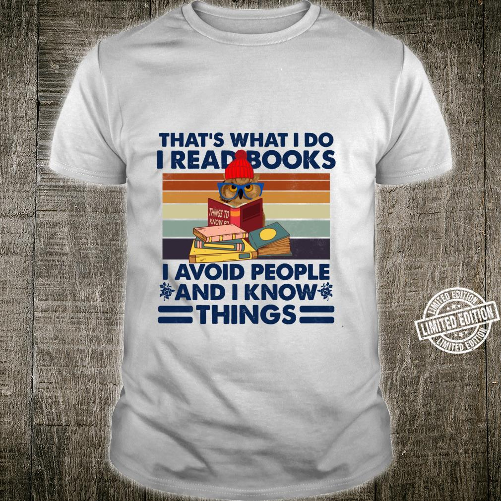 That's What I Do, Book Readers Vintage Shirt