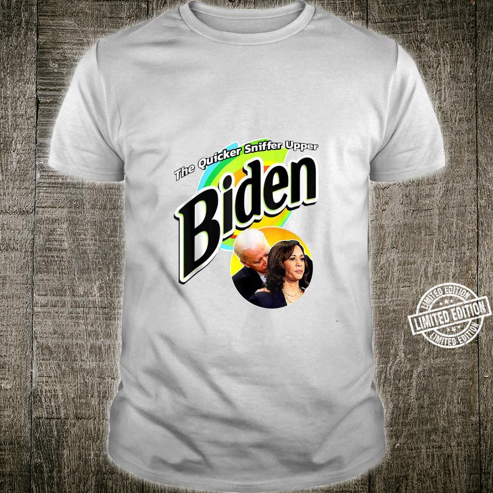 The Quicker Sniffer Upper Anti Biden Pro Trump Shirt