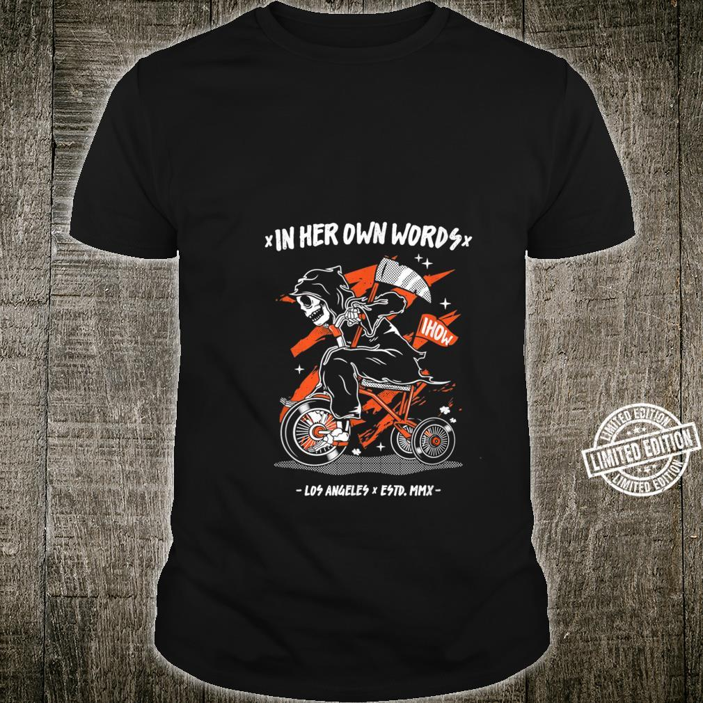 The Reaper Riding Bike In Her OwnWay Shirt