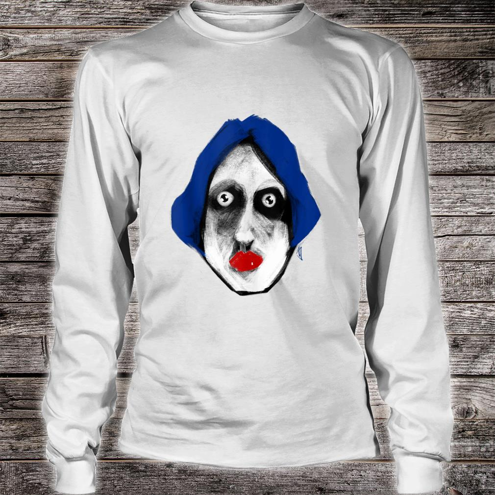 The Red Lips Shirt long sleeved