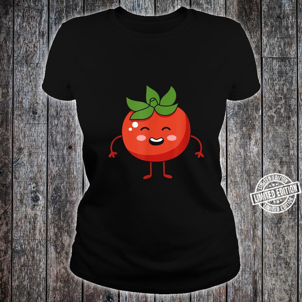Tomato Fruit Gift Tomatos Fruit Themed Outfit Shirt ladies tee